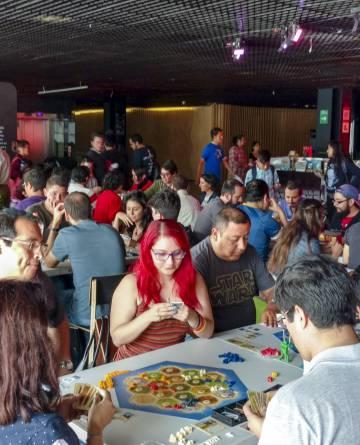 Juegos distribuidos por Devir como Catan (en la foto) tienen cada vez más aficionados en América Latina.