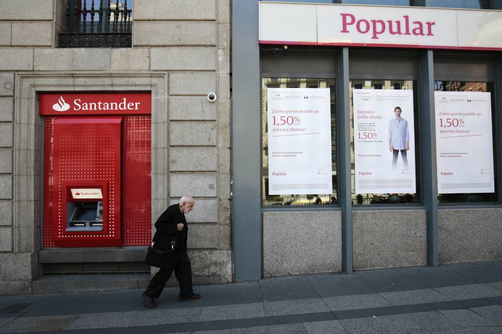 Santander vende la parte de wizink del popular y recupera for Oficinas banco popular madrid