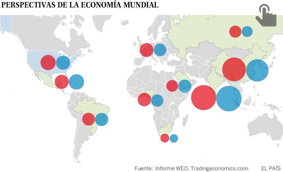 La remontada de los países emergentes