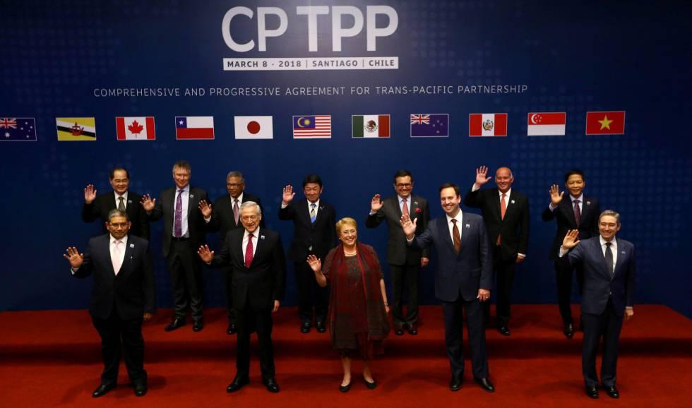 Canadá, México e Chile fecham acordo global do Pacífico contra o protecionismo de Trump