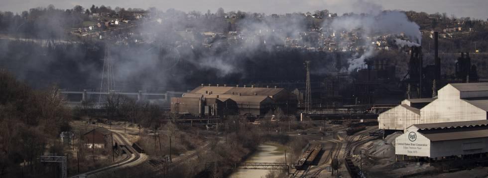 Acería de US Steel en Braddock (Pensilvania).
