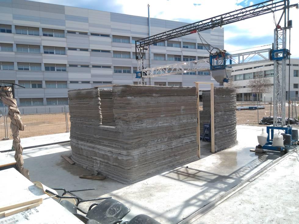 Se venden casas construidas con una impresora 3d por euros econom a el pa s - Empresas construccion valencia ...