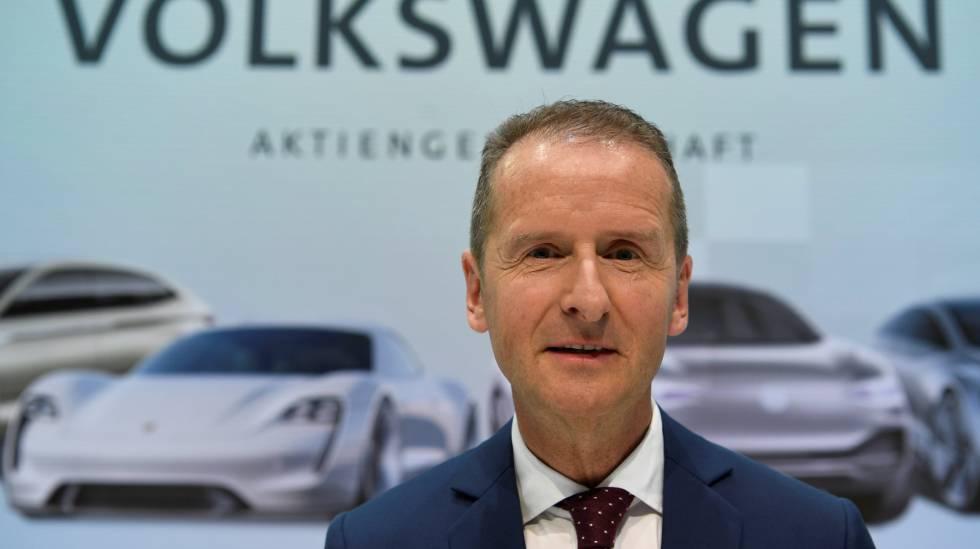 """Resultado de imagen de Herbert Diess wolskwagen"""""""