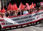 Miles de jubilados salen otra vez a la calle en toda España para reclamar pensiones dignas