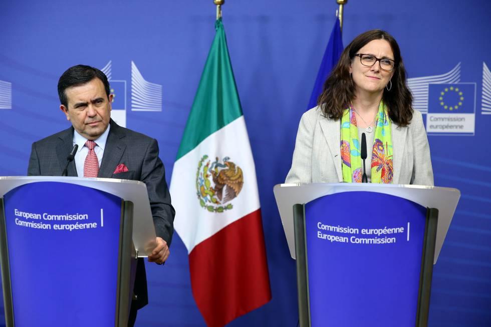 Resultado de imagen de La Unión Europea y México alcanzan un nuevo acuerdo sobre comercio
