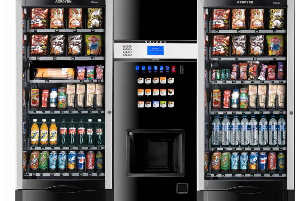 Máquinas de vending.