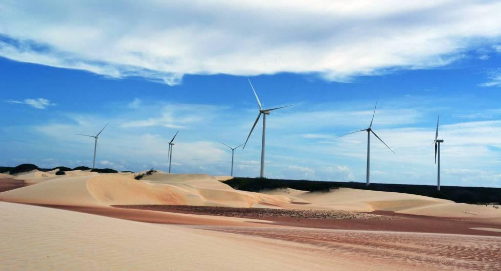 Parque eólico da Iberdrola no Rio Grande do Norte