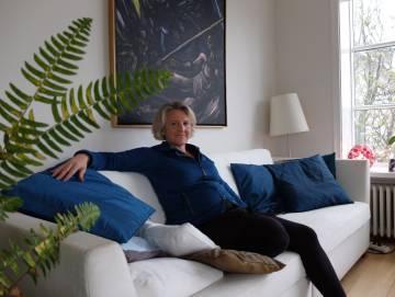 Olöf Sverrisdótir, profesora islandesa que se enfrenta a la subida del precio del alquiler en Reikiavik
