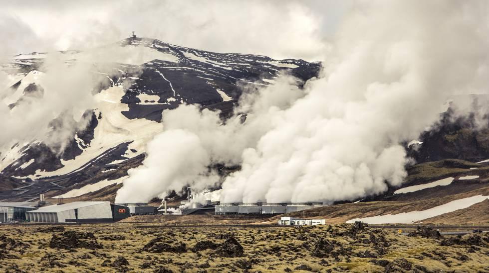 Central geotérmica de Hellisheidi, en Islandia.