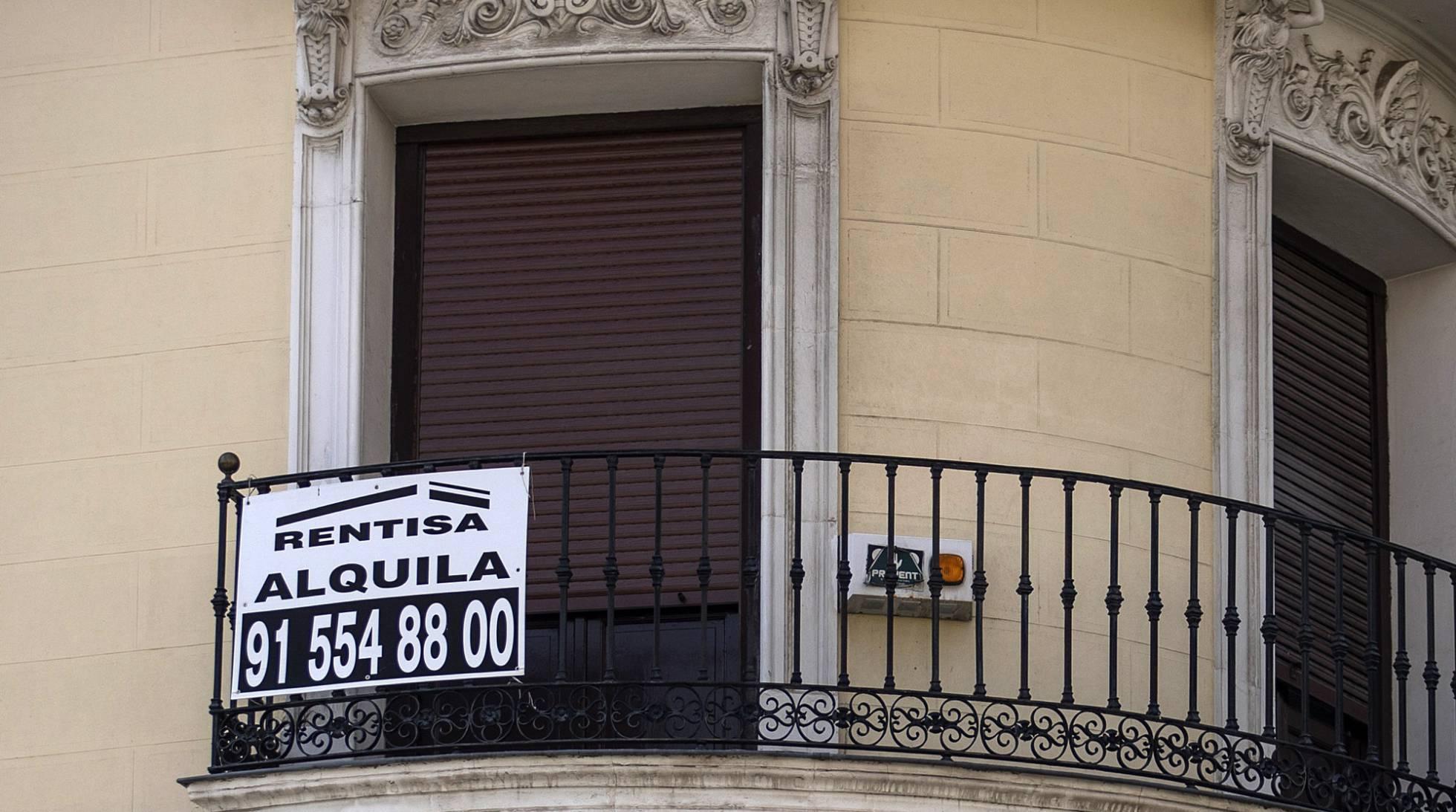 Sánchez intenta sortear el bloqueo político y económico para rebajar los alquileres