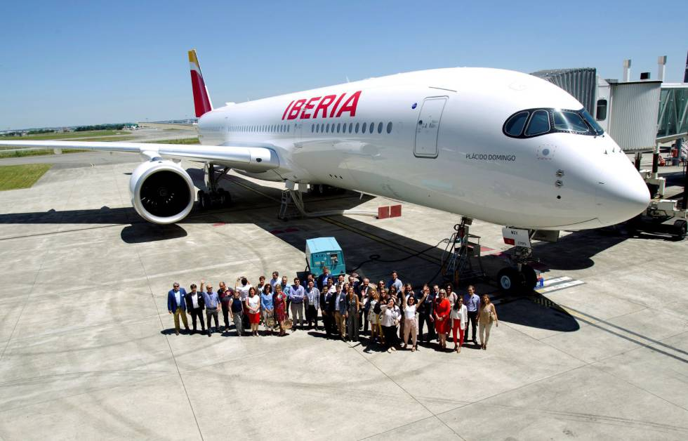 Resultado de imagen para A350-900 Iberia