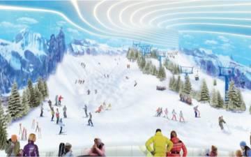 Imagen del proyecto del centro comercial.