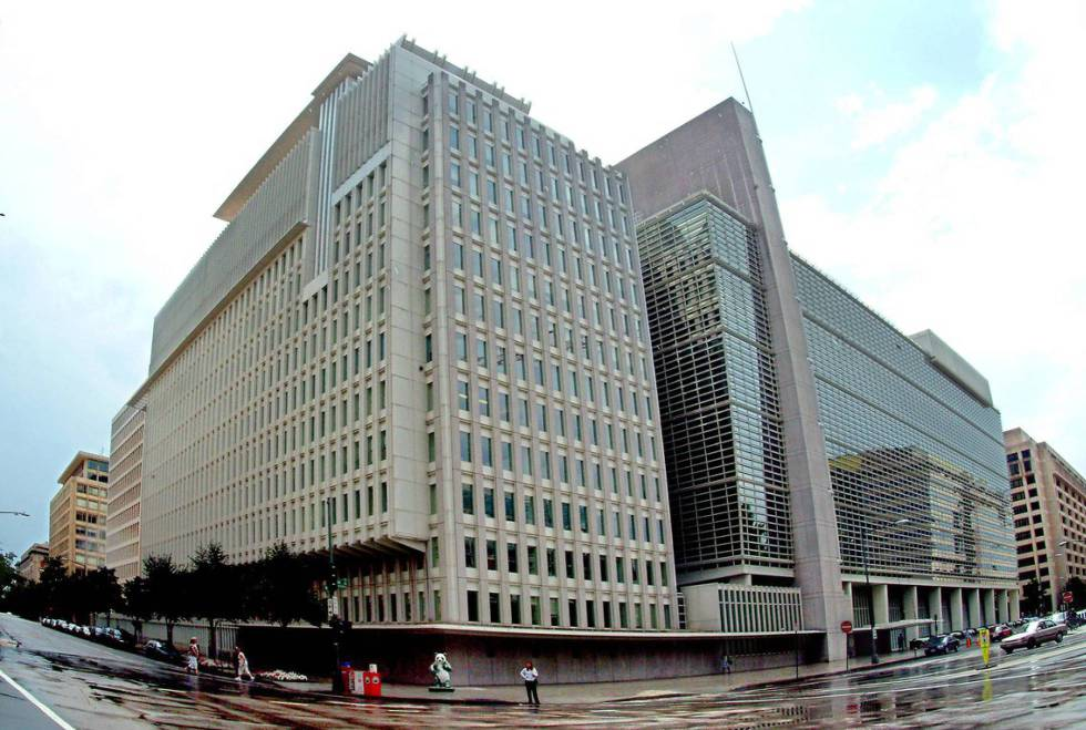 The World Bank headquarters in Washington DC.