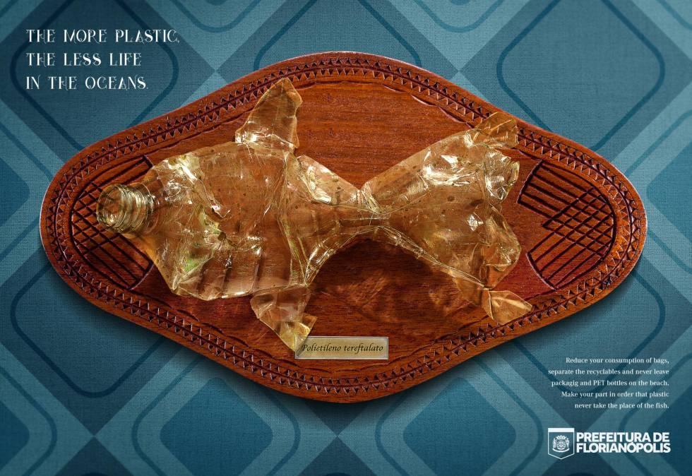 La importancia de la publicidad para denunciar el mar de plástico que amenaza el planeta