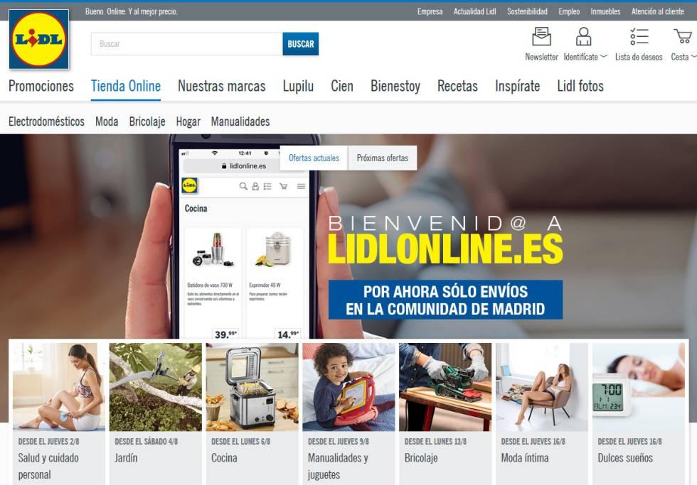 19f619780 Lidl venderá por Internet  estrena en Madrid en pruebas su tienda ...