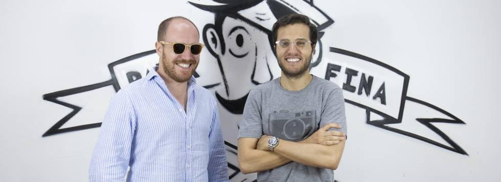 Samuel Soria Santos (izquierda) y Alfonso Luján de Said, fundadores de Parafina.