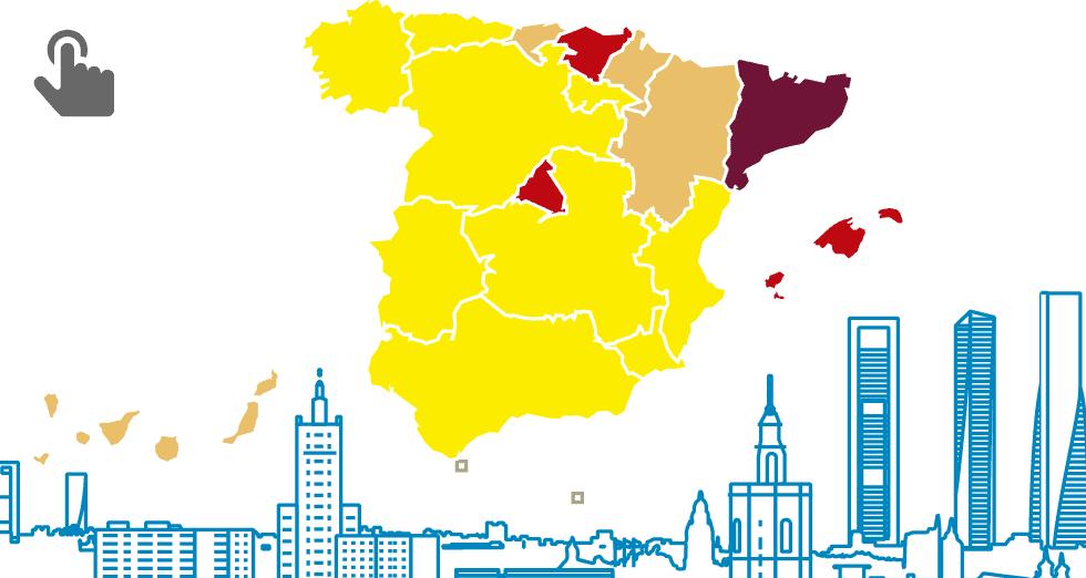 GRÁFICO: El mercado del alquiler de vivienda en España