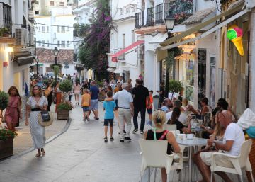 International tourist arrivals slowing down in Spain, July figures show