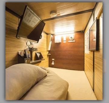 Una de las habitaciones que Haibu 4.0 promociona en su web de pisos colmena