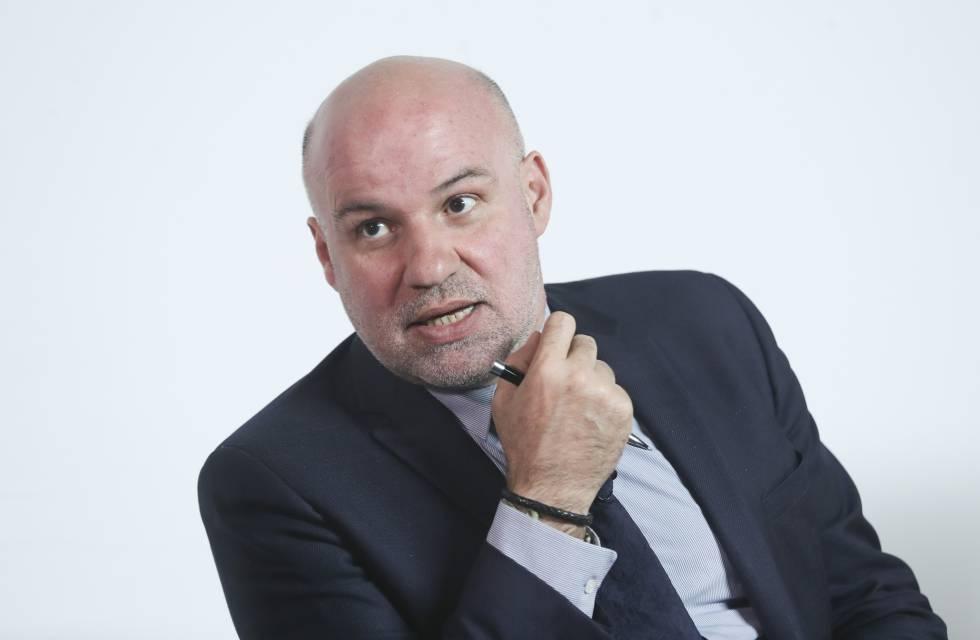 El portavoz de Juezas y Jueces para la Democracia, Ignacio González Vega.