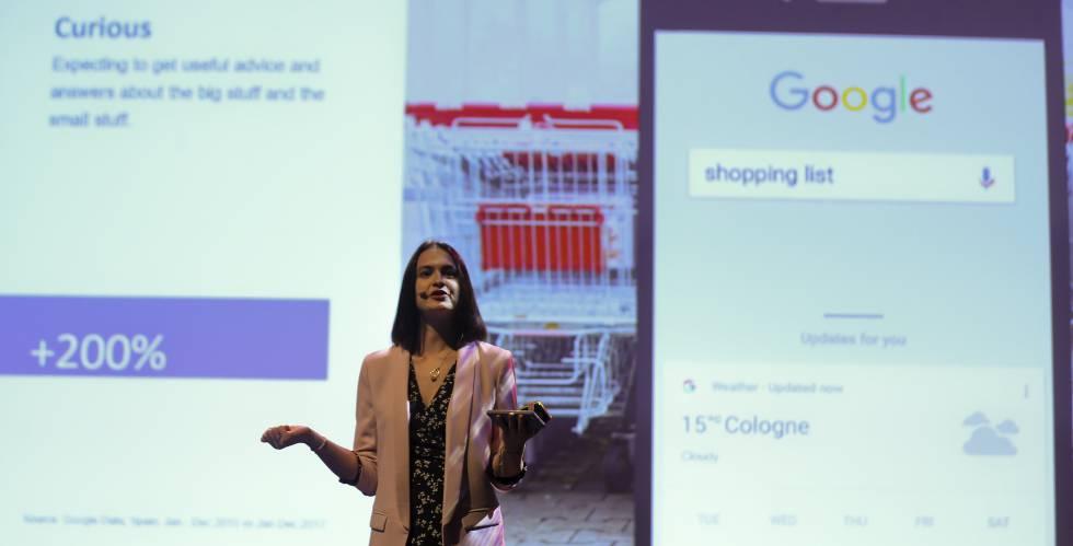"""El mensaje de Joanna Borowska, directiva de Google, es """"conoce a los consumidores y sé útil para ellos""""."""