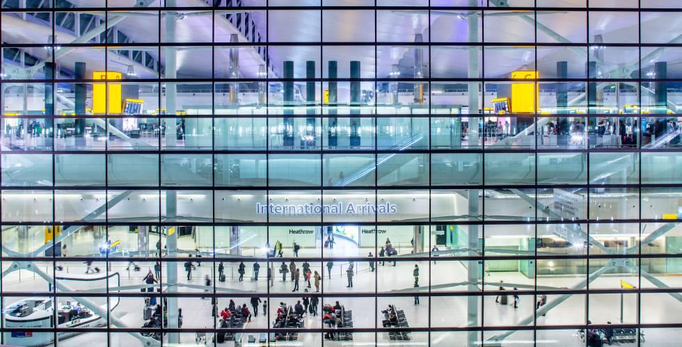 Terminal del aeropuerto londinense de Heathrow.