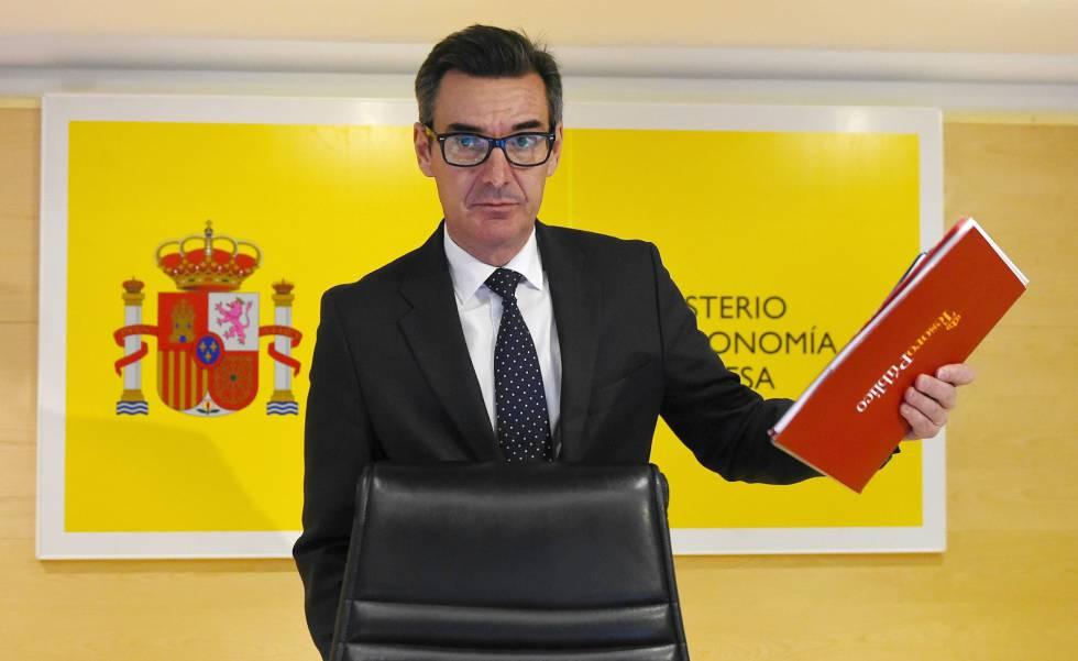 El secretario general del Tesoro, Carlos San Basilio.