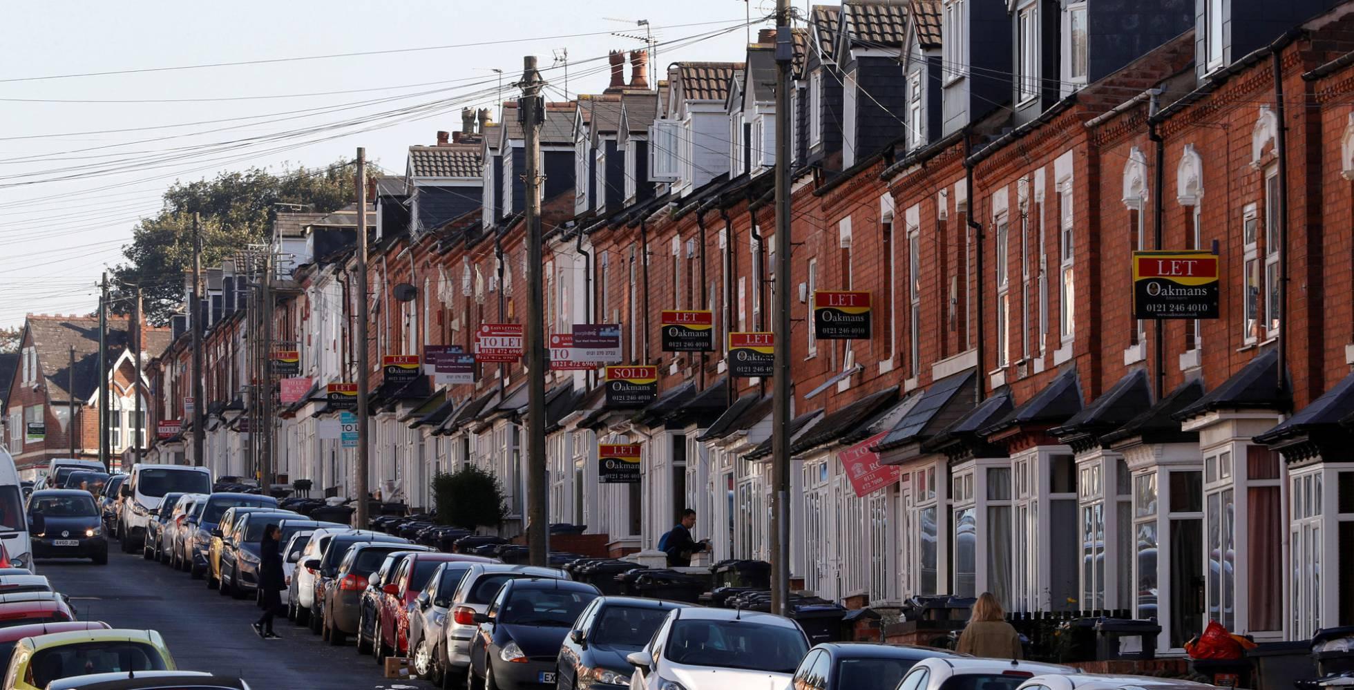 Un Brexit sin acuerdo hundiría el precio de la vivienda en Reino Unido