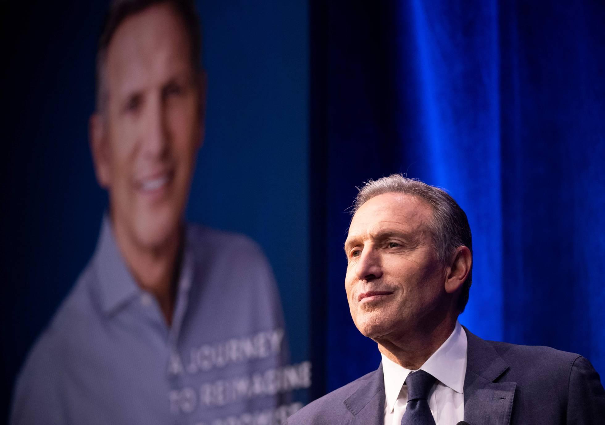 Howard Schultz: el cafetero de Starbucks que aspira a la Casa Blanca