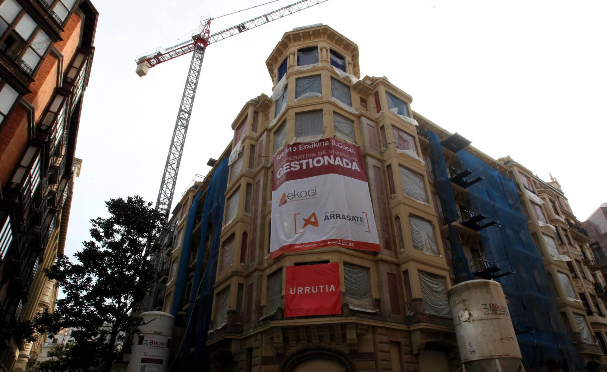 España vuelve a construir más de 100.000 viviendas al año
