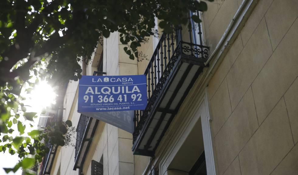 Un piso de Madrid en alquiler, marzo de 2019.