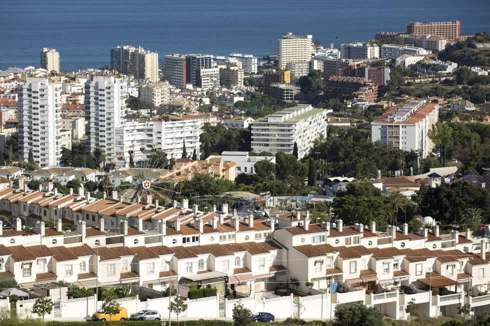 Viviendas en la localidad de Benalmádena, en la Costa del Sol, uno de los destinos favoritos de los ingleses.