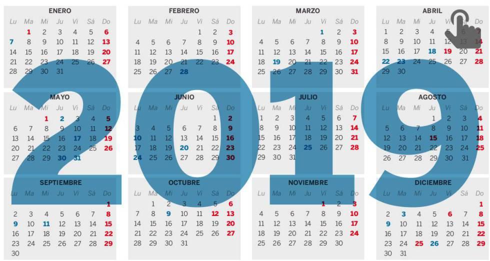 Calendario Marzo 2020 Chile.En Que Comunidades Es Festivo El 19 De Marzo Dia Del Padre