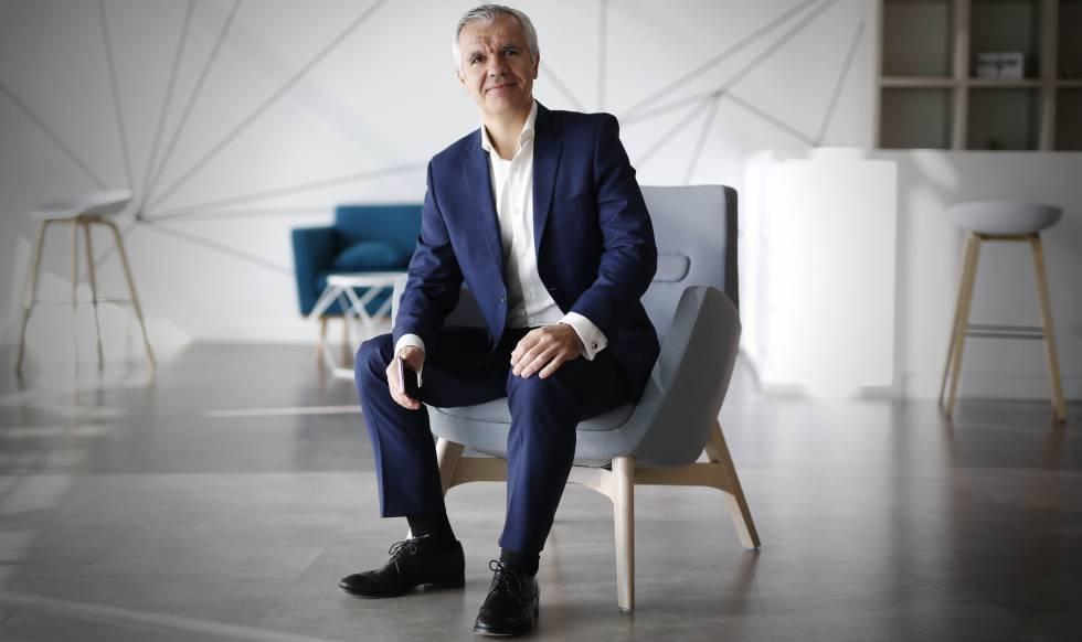 Celestino García, vicepresidente corporativo de Samsung España.