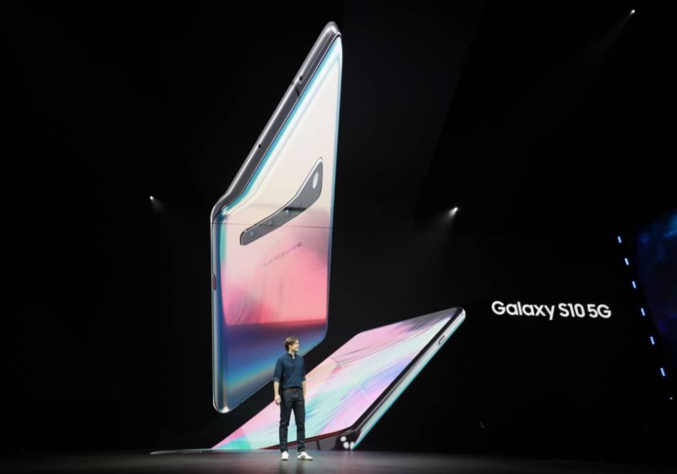 Presentación del Samsung Galaxy S10 5G.