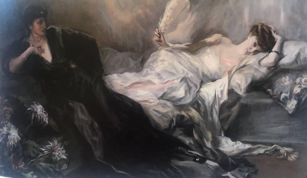 'La Cocotte', de Federico de Madrazo, es una de las 10.000 obras de arte que son objeto de disputa.