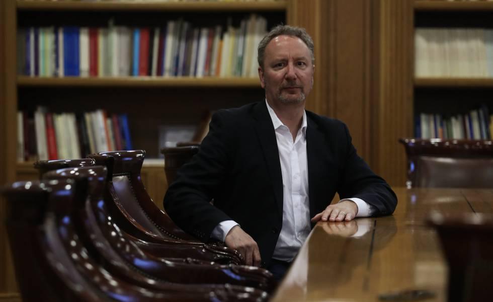 Entrevista a Mark Blyth, escritor y profesor de gobernanza económica, en la Fundación Ramón Areces.