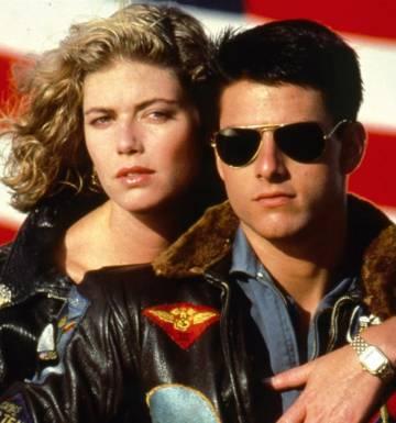 El actor Tom Cruise popularizó un modelo de gafas de sol de Ray-Ban con la película Top Gun
