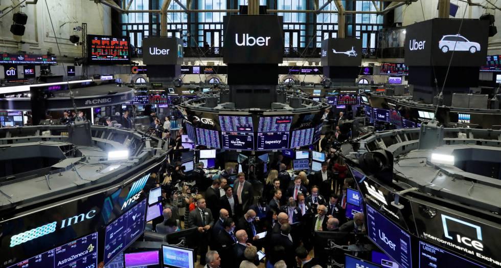 a046eec70 Uber se estrena en Bolsa con caídas y dudas sobre su modelo de ...