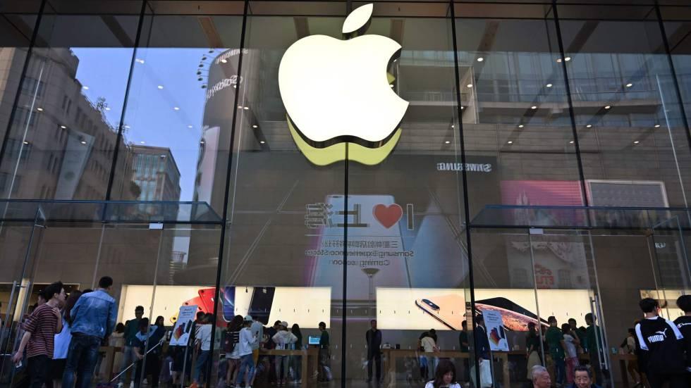 Una tienda de la tecnológica Apple en China