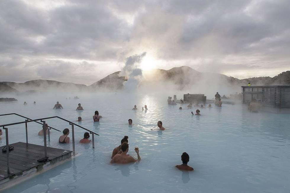 La Blue Lagoon de Islandia, uno de los lugares más visitados por los turistas