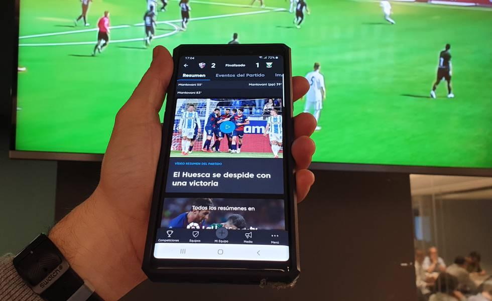 Aplicación oficial para móviles de LaLiga.