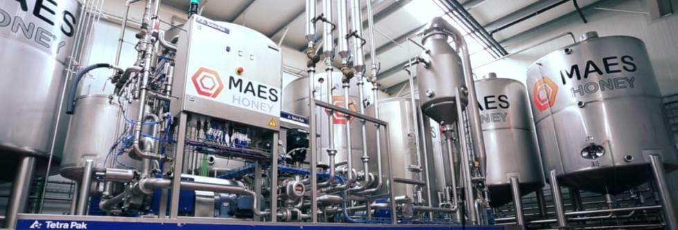 Instalaciones de la firma salmantina Maes Honey.