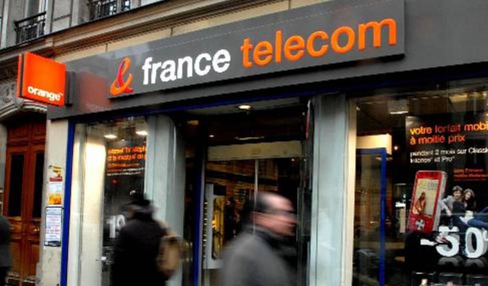 Una tienda de France Telecom en 2009.