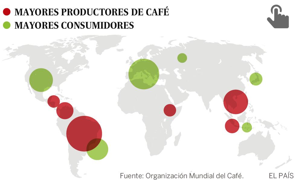 La crisis del café: hay más que nunca, pero ni usted ni los productores se benefician