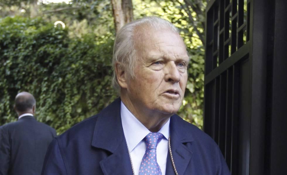 Muere el banquero y empresario Emilio Ybarra a los 82 años