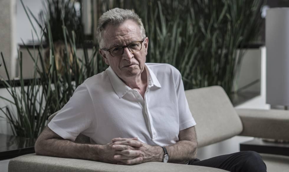 Martin Ravallion, fotografado em um hotel da Cidade do México.