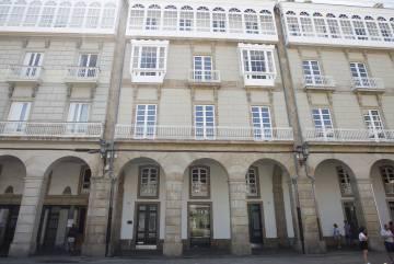 Sede della Rosp Corunna, in piazza María Pita in La Coruña.