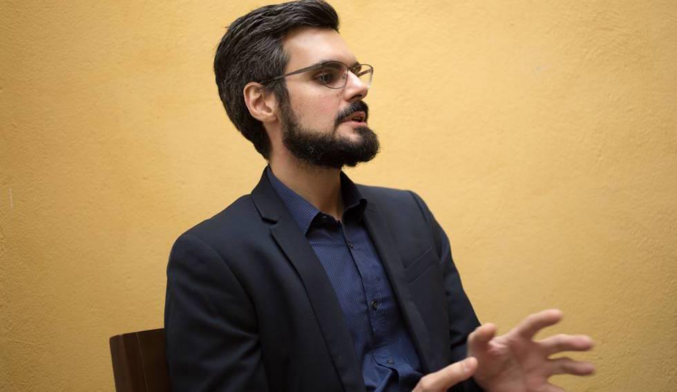 Souza, durante la entrevista con EL PAÍS.