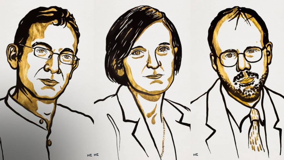 Banerjee, Duflo y Kremer ganan el premio Nobel de Economía por sus estudios sobre la reducción de la pobreza